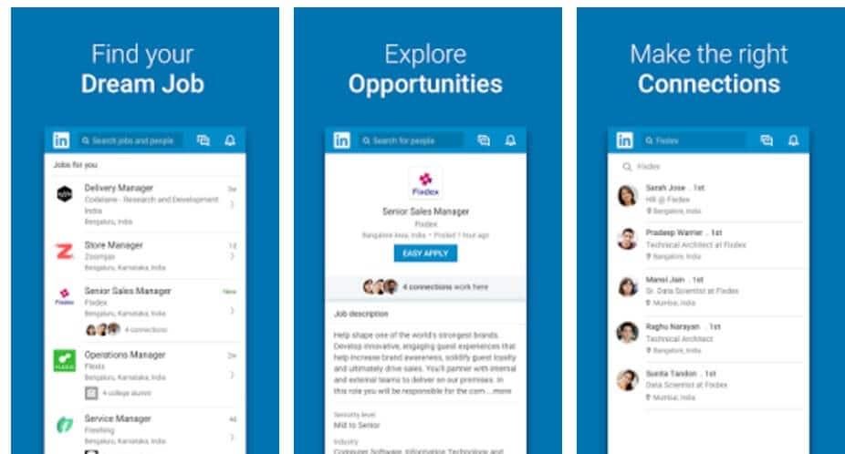 Η νέα mobile εφαρμογή του Linkedin είναι ήδη στα Smartphone !, Προώθηση ιστοσελίδων SEO Marketer
